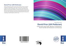 Bookcover of David Prior (UK Politician)