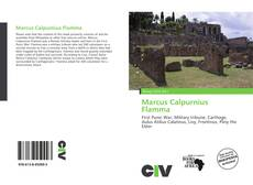 Marcus Calpurnius Flamma kitap kapağı