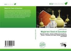 Borítókép a  Majid bin Said of Zanzibar - hoz