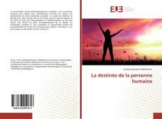 Portada del libro de La destinée de la personne humaine
