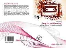 Greg Kane (Musician) kitap kapağı