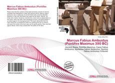 Bookcover of Marcus Fabius Ambustus (Pontifex Maximus 390 BC)