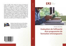 Bookcover of Evaluation de l'efficacité d'un programme de formation d'enseignants