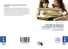 Copertina di Faculté de langues étrangères de Rennes