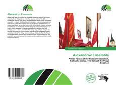Portada del libro de Alexandrov Ensemble