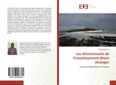 Bookcover of Les déterminants de l'investissement direct étranger