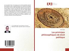 Copertina di Les prinicipes philosophiques de droit politique