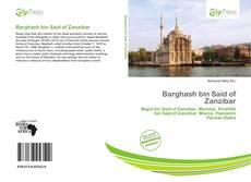 Borítókép a  Barghash bin Said of Zanzibar - hoz