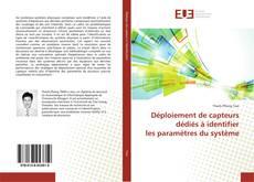 Capa do livro de Déploiement de capteurs dédiés à identifier les paramètres du système