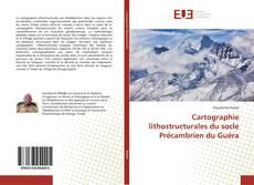 Bookcover of Cartographie lithostructurales du socle Précambrien du Guéra