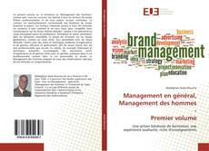 Buchcover von Management en général, Management des hommes - Premier volume