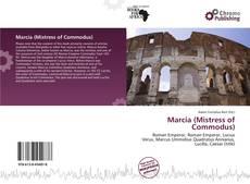 Portada del libro de Marcia (Mistress of Commodus)