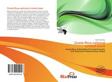 Bookcover of Costa Rica national cricket team