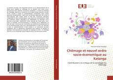 Bookcover of Chômage et nouvel ordre socio-économique au Katanga