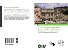 Bookcover of Gaius Bruttius Praesen