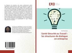 Bookcover of Santé Sécurité au Travail : les structures de dialogue en entreprise