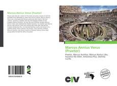 Marcus Annius Verus (Praetor)的封面