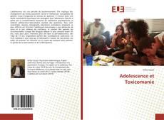 Couverture de Adolescence et Toxicomanie