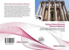 Copertina di Gaius Iulius Erucius Clarus Vibianus