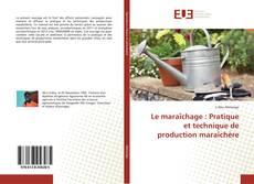 Bookcover of Le maraîchage : Pratique et technique de production maraîchère