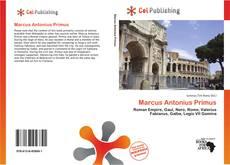 Bookcover of Marcus Antonius Primus