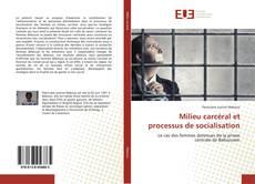 Milieu carcéral et processus de socialisation kitap kapağı