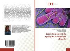 Capa do livro de Essai d'isolement de quelques souches de shigelle