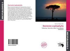 Bookcover of Daviesia Leptophylla