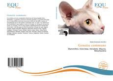 Обложка Genette commune