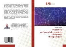 Couverture de Péritonites postopératoires: aspects cliniques et thérapeutiques