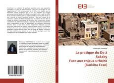 Bookcover of La pratique du Do à Sakaby Face aux enjeux urbains (Burkina Faso)