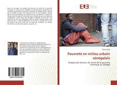 Bookcover of Pauvreté en milieu urbain sénégalais