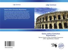 Обложка Gaius Julius Cornutus Bryonianus