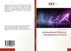 Copertina di Informational Efficiency And Behavioral Finance