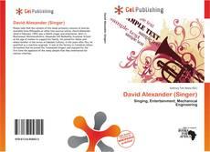 Capa do livro de David Alexander (Singer)