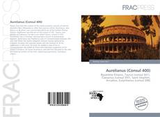 Capa do livro de Aurelianus (Consul 400)