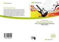 Bookcover of David Lloyd (Tenor)