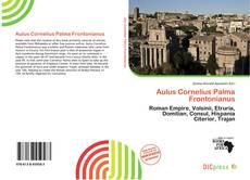 Bookcover of Aulus Cornelius Palma Frontonianus