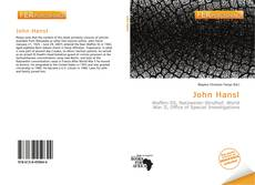 Bookcover of John Hansl