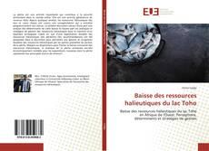 Portada del libro de Baisse des ressources halieutiques du lac Toho