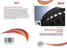 Portada del libro de Gaius Ateius Capito (Jurist)