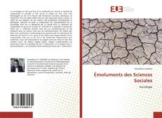 Bookcover of Émoluments des Sciences Sociales