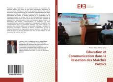Education et Communication dans la Passation des Marchés Publics的封面
