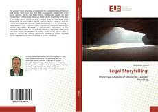 Bookcover of Legal Storytelling