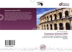 Capa do livro de Caesarius (Consul 397)