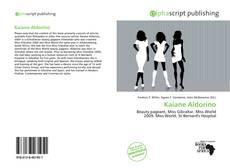 Kaiane Aldorino的封面