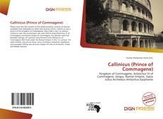Callinicus (Prince of Commagene) kitap kapağı