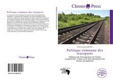 Borítókép a  Politique commune des transports - hoz