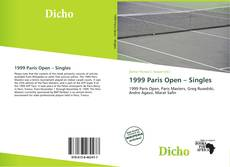 Borítókép a  1999 Paris Open – Singles - hoz