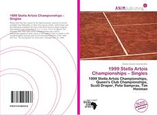 Bookcover of 1999 Stella Artois Championships – Singles